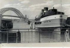 """""""South Steyne - docked at Circular Quay wharf in Sydney