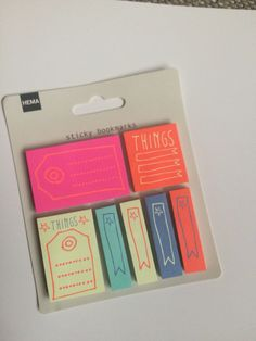 Sticky bookmarks and page flags- sticky notes - sticky memos - filofax, erin condren planners, kikkik , planner stickies