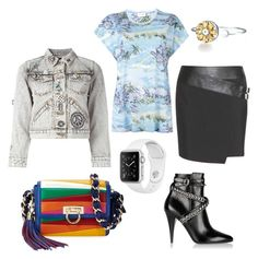 """""""Untitled #538"""" by rubysparks90 on Polyvore featuring Yves Saint Laurent, Marc Jacobs and Salvatore Ferragamo"""