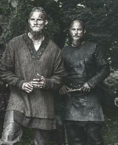 Bjorn and Ragnar #Vikings
