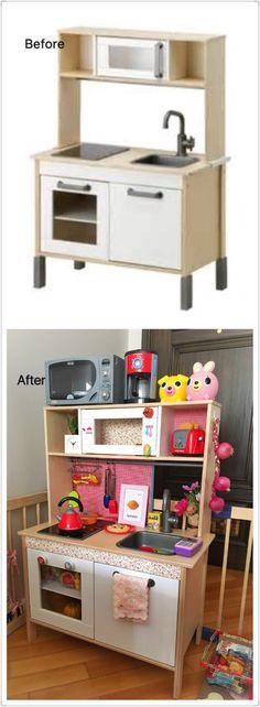 IKEA kid's kitchen hack