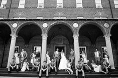 New Large Bridal Party Poses Ideas Bridal Party Poses, Wedding Poses, Wedding Fun, Dream Wedding, Wedding Ideas, Large Bridal Parties, Wedding Photography Poses, Party Photography, Lifestyle Photography