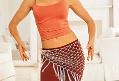 Shake Your Way to Slim..... This 15-minute belly dancing workout will help you wiggle away that stubborn weight, revealing your sexiest midsection