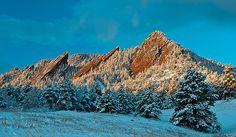Flatirons Boulder, CO