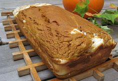 I have to try this!  Making two loaves and slicing each loaf into 8 slices, it's only 4 points plus for each slice!  In comparison, Pumpkin Loaf from Starbucks is 11 points plus per slice!