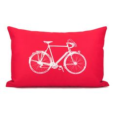 Bicycle pillow case.