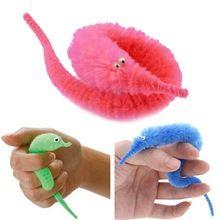 Magic Twisty Fuzzy Worm Wiggle Moving Sea Horse Kids Trick Toy CaterpillarPLCA