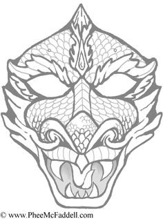 realistic dragon coloring pages - bing images | coloring pages for ... - Chinese Dragon Mask Coloring Pages
