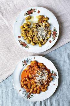 Gluten-free, sweet potato tapioca gnocchi