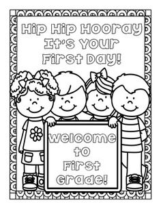 Best of back to school starting the school year apples for Pre k first day of school coloring pages