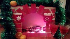 DIY Камин своими руками на Новый Год / Украшаем комнату к Новому Году и Рождеству