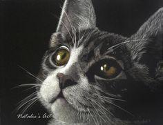 Natalie Langkopt (scratchboard drawing) Wild Animals, Animals And Pets, Pencil Drawings, Art Drawings, Scratchboard Art, Scratch Art, White Pencil, Skillets, Black Paper