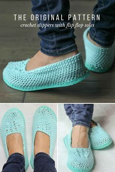 Yay summer! This is the original slipper pattern that kicked off the crocheting on flip flops trend. Get the free pattern from Make and Do Crew.