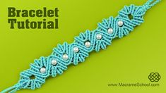 DIY Yarn Shell Bracelet with Pearls - Tutorial. Please feel free to use this tutorial for your own projects. Please check out other Beaded Macrame Bracelets ...