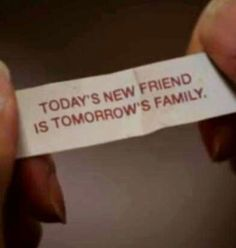 Today's new friend is tomorrow's family. - From CBS's NCIS TV show #NCIS #CBS