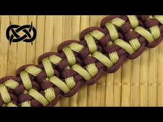 How to make a Rugged Sanctified Paracord Buckle Bracelet - YouTube