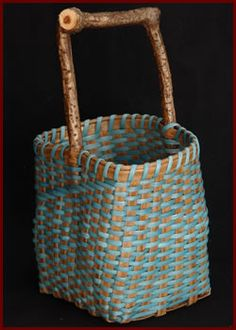 Square Basket by master basket weaver Tina Puckett