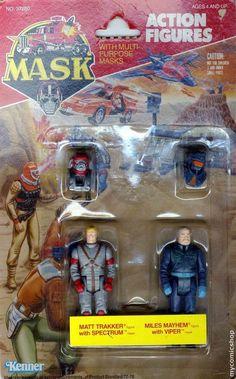 M.A.S.K. Matt Trakker & Myles Mayhem action figures