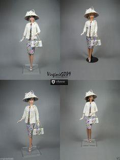 Tenue Outfit Accessoires Pour Fashion Royalty Barbie Silkstone Vintage 1472 | eBay
