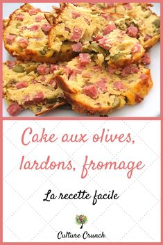 Cake Aux Olives, Plats Healthy, Olive Oil Cake, No Salt Recipes, Plum Cake, Money Saving Meals, Brunch, Entrees, Cauliflower