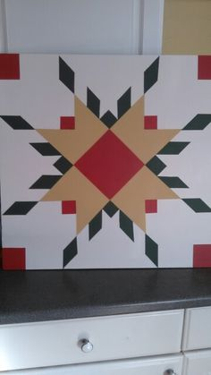 Christmas Barn Quilt