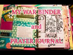 My War Binder / Prayer Journal: Walk Through and Advice - YouTube