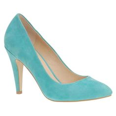 Refreshing color! Gorgeous pumps from Aldo.
