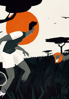 Various Illustrations, set 8. by Sergiy Maidukov, via Behance