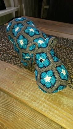 Freestyle Crochet African Flower Hippopotamus Pattern - Crochet Craft, Crochet Hippo