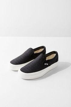 Vans Embossed Classic Slip-On Platform Sneaker