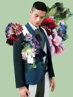 Botanica: Hao Yun Xiang for Lane Crawford Spring 2014 Campaign
