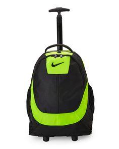Nike Green   Black Rolling Backpack More 067b8ce1215f3