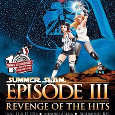 Less than two weeks until 20 house teams from the Pacific Northwest converge in Richmond for SUMMER SLAM III: Revenge of the hits! #SSLAM2016 #derby #rollerderby #tournament by terminalcityrollergirls
