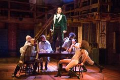Review: In 'Hamilton,' Lin-Manuel Miranda Forges Democracy Through Rap - The New York Times