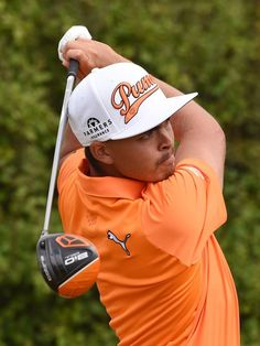 Rickie Fowler, shown playing in the British Open, is one of the ...