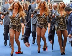 Mariah Carey Tripped In VERY High Platform Heels on The Red Carpet