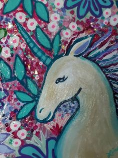 Mixed Media Painting, Painting Abstract, Star Art, Acrylic Canvas, Collage Art, Art Ideas, Unicorn, Moose Art, Shelf