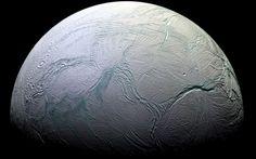 Enceladus | Images: NASA/JPL/Space Science Institute.