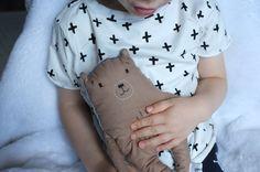 My first handmade teddybear ♥