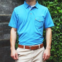 The Denver Polo by Buffalo Jackson Trading Co: the best blend between a classic and athletic fit. A must-have staple for this spring and summer - and a great gift for the man who cares about style AND quality.
