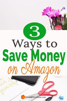 Love to shop Amazon? Did you know you can save money when shopping online? Make the most of your money with these three amazing tools! | saving money | shopping online | save money online | save money on amazon | save with ibotta | save with ebates | save with honey | cash back rewards app | Cook With a Shoe
