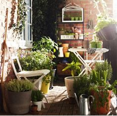 Pomysły na piękny balkon. Wpuść wiosnę do domu:)