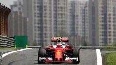 Chinese Grand Prix: Kimi Raikkonen top as Ferrari beat Mercedes
