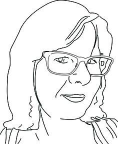 Bekijk de portret animatie van Annet van Klinken Kuiper. Annet doet mee met de Kunst Kalender 2014.