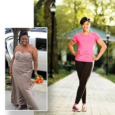 Michele Auguste: These inspiring weight loss success stories feature women who lost 100 pounds or more. Before and after weight loss success stories.