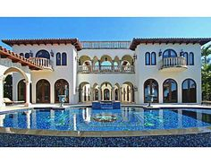 """Introducing """"Palacio del Eden"""", a masterpiece with over 100ft of magnificent bay views. Imposing splendor and uncompromising attention to detail, marks this as the Crown Jewel of Sunset Island."""