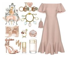 """Something pink"" by ellenfischerbeauty ❤ liked on Polyvore featuring Annello, Dolce&Gabbana, Piaget, Gianvito Rossi, Oscar de la Renta, Cartier, Gucci, Valentino, Urban Decay and Chanel"