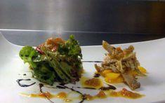 Ensalada de Perdiz Escabechada, Tomate Confitado y Mango asado - Gastro Home Micue