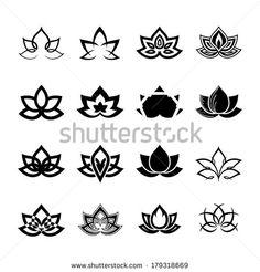 lotus flower vector - Google Search