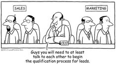 The realities of Sales and Marketing Alignment :-)